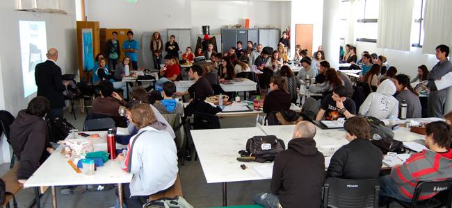 Charla en la Universidad de La Plata