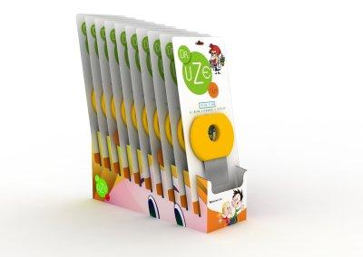 Packaging para peines finos