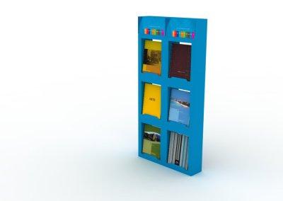 Diseño industrial exhibidor carton