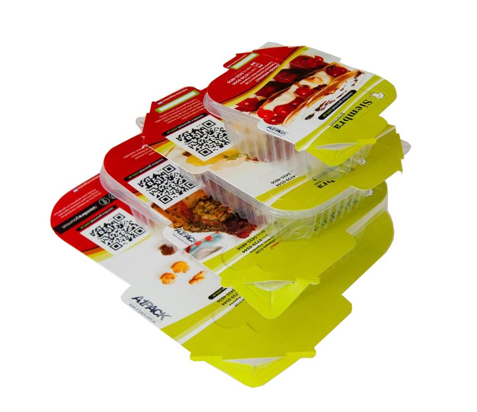 Packaging para envases descartables