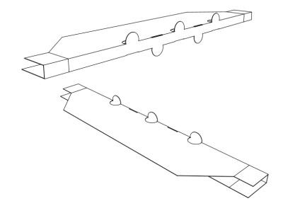 Diseño industrial packaging modular para embalaje paneleria