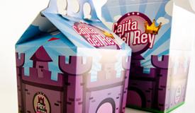 packaging de comida rápida niños