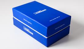 Cajas rígidas de cartón prensado y forrado