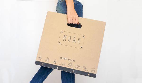 Packaging para carteras transportable