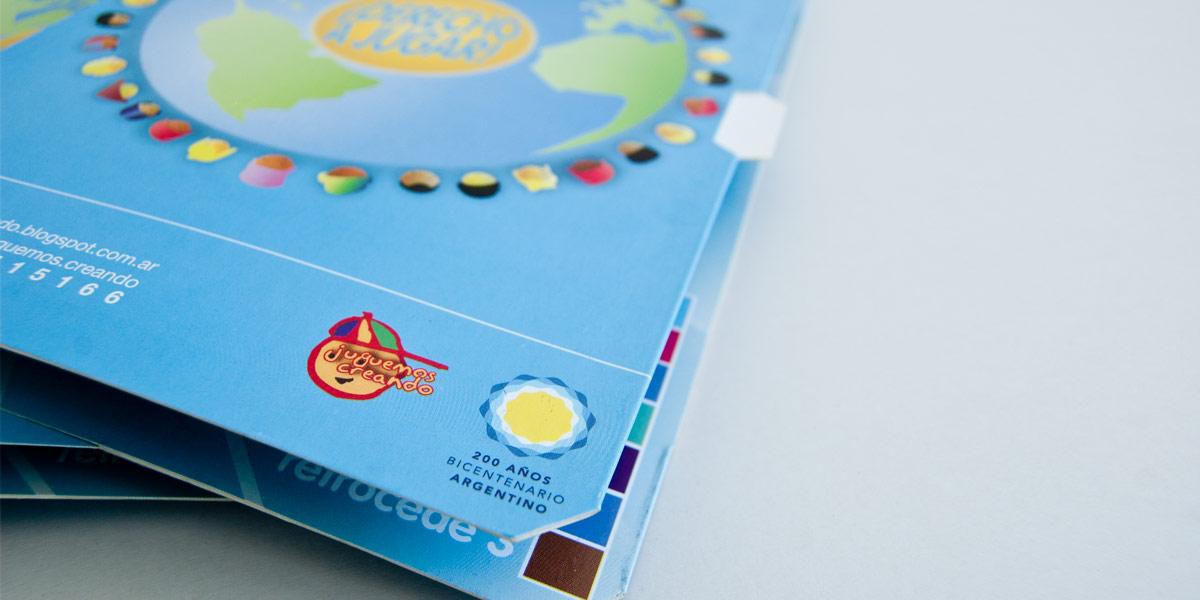 Juego de mesa formato libro