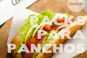 Packaging de comida rápida / panchos