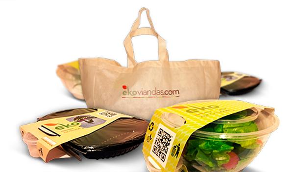 Packaging para viandas porta aderezos