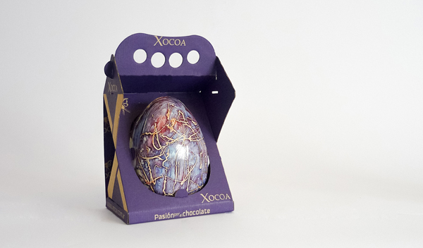 Packaging huevos de pascua a medida